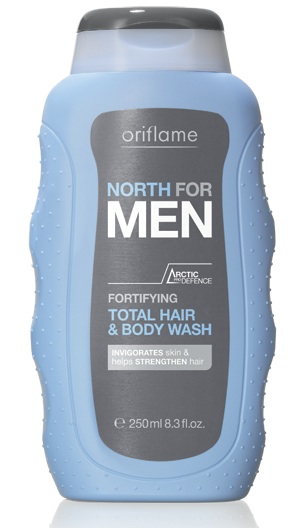 north for men shampoo